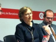 Marta Lacambra ha descrit la diversitat d'accion de la Fundació Catalunya La Pedrera