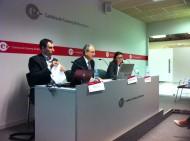 Romà Vilaclara presentant la Jornada en nom de l'ASCEF