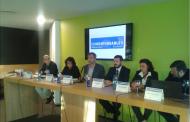Rafel Oncins (Plusfresc), Teresa Benet (Shalom), Josep Maria Canyelles (Respon.cat), Jordi Piqué (Tressis), Yolanda Soria (Lions)
