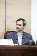 Josep Maria Canyelles, coordinador de Respon.cat, intervenint a la Taula rodona de la Jornada de Corresponsables
