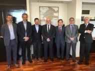 D'esquerra a dreta: Josep Maria Canyelles, David Cos, Cristian Rovira, Jordi Baiget, Josep Santacreu, Xavier Gibert i Narcís Bosch