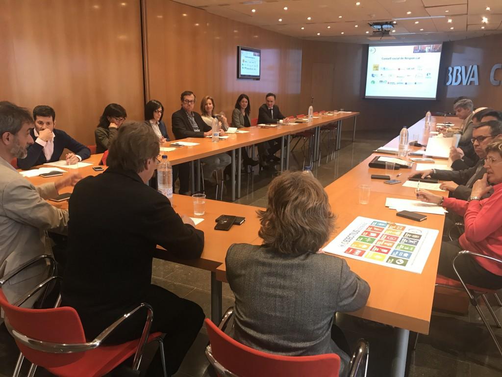 Moment de la sessió de Consell social de Respon.cat