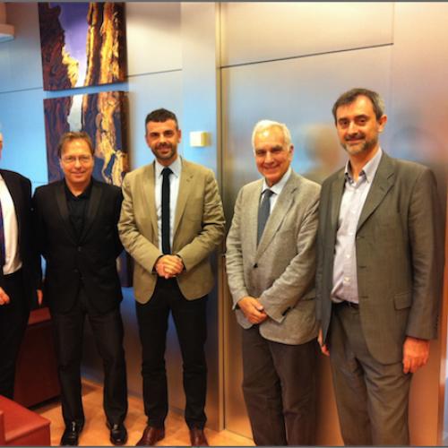 Hem presentat Respon.cat al conseller de Territori i Sostenibilitat Santi Vila
