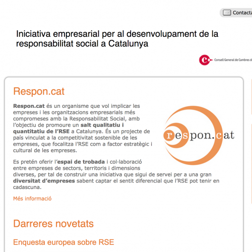 Reunió de DirComs d'empreses membres de Respon.cat