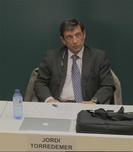 Jordi Torredemer, responsable de Comunicació de Mina Aigües de Terrassa i director de la Fundació Mina