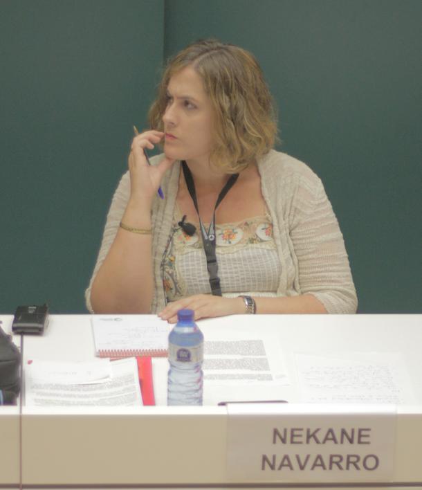 Nekane Navarro, consultora social, ha moderat el debat