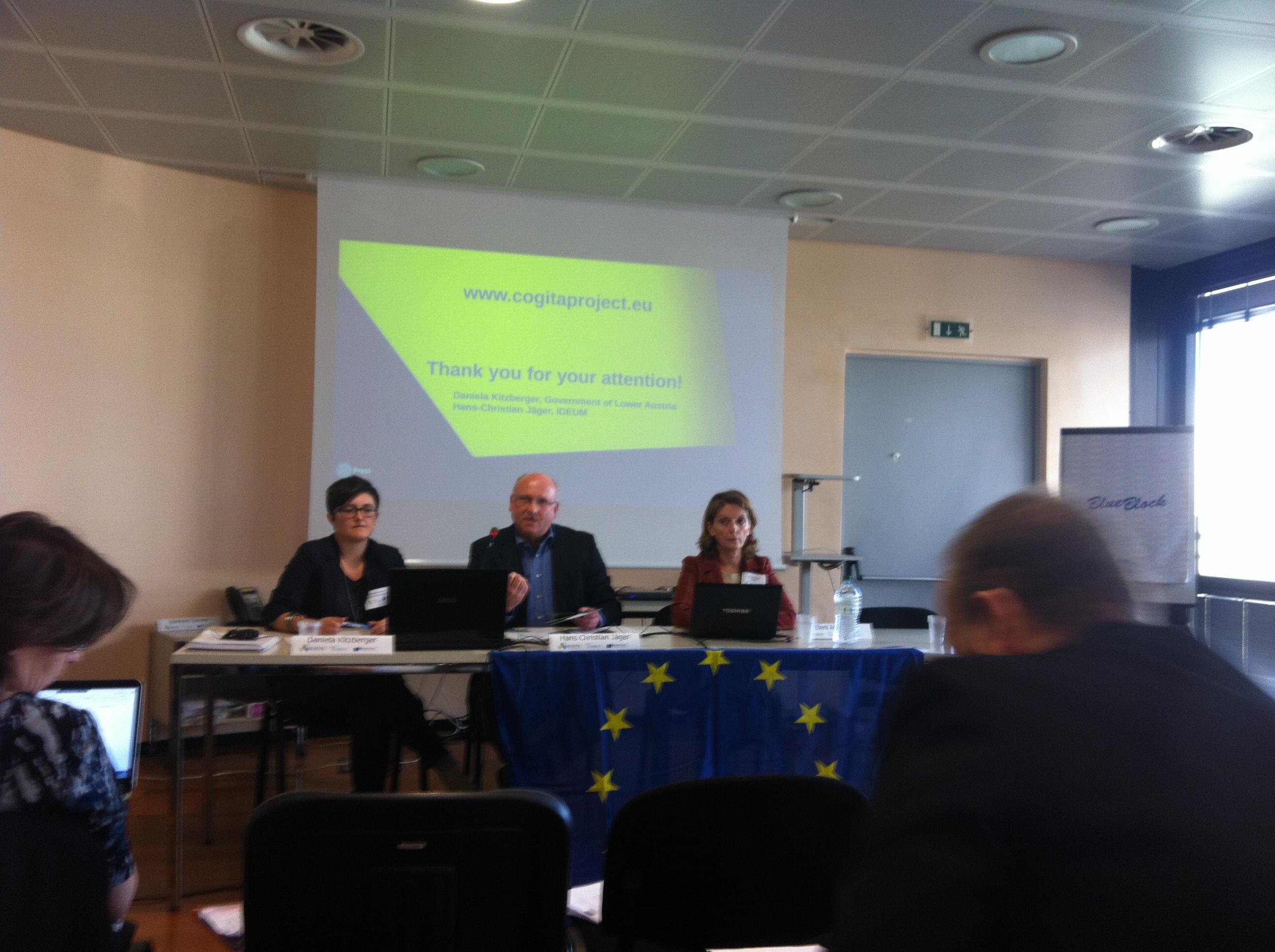 Daniela Kitzberger i Hans-Christian Jaeger, Govern Baixa Àustria; Eleni Apospori, Universitat d'Economia i Negocis d'Atenes
