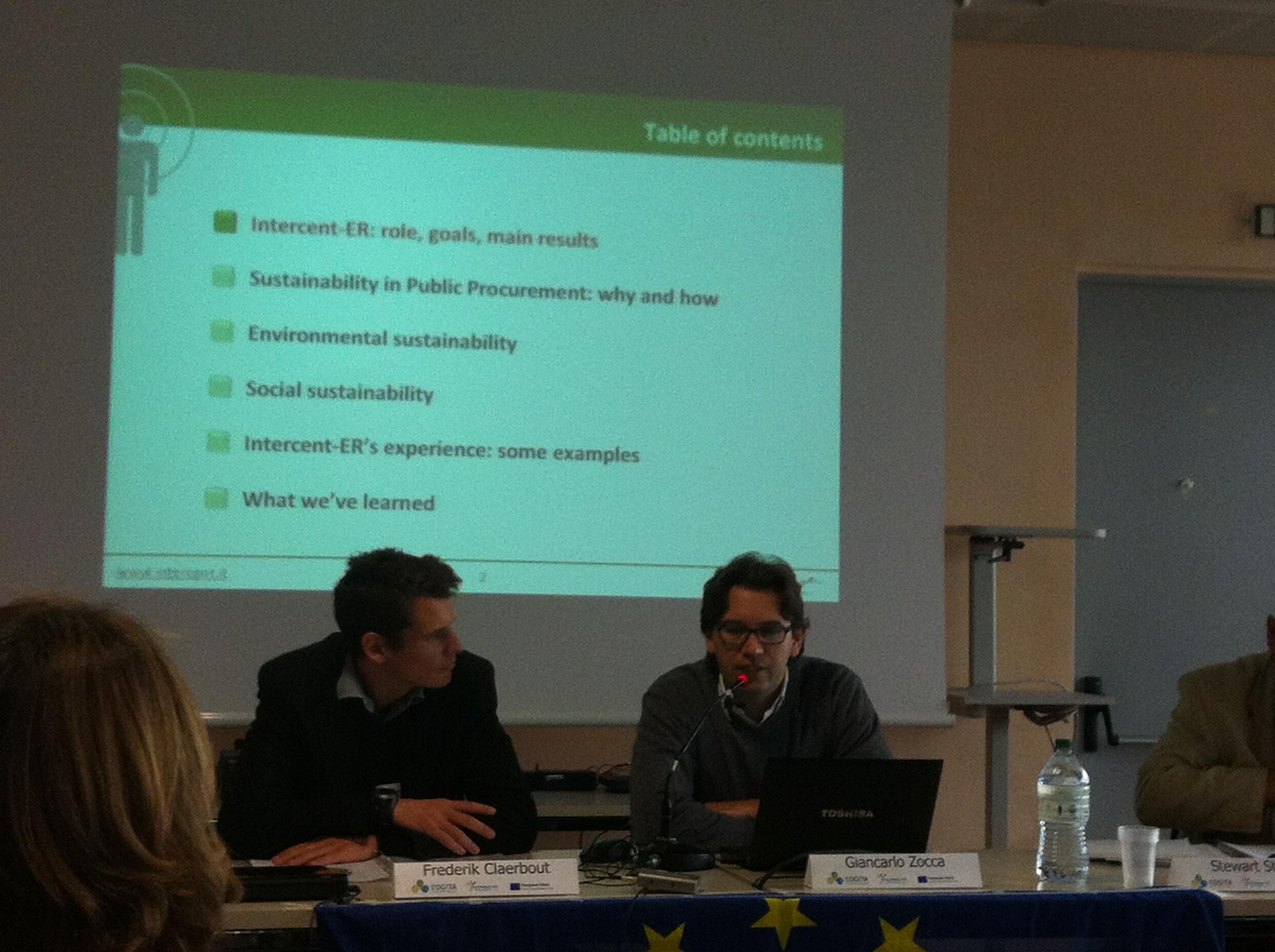 Giancarlo Zozza, IntercentER - Emilia Romanya, Agència de Contractació Pública i mercats electrònics