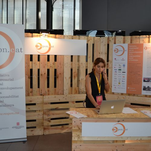 Respon.cat va estar present al Marketplace amb un estand