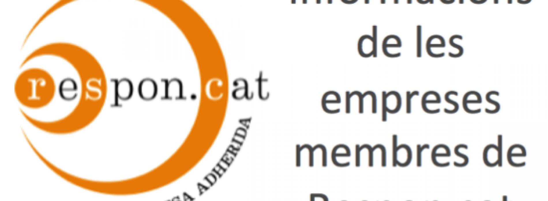 Donem la benvinguda a tres noves empreses membres a Respon.cat