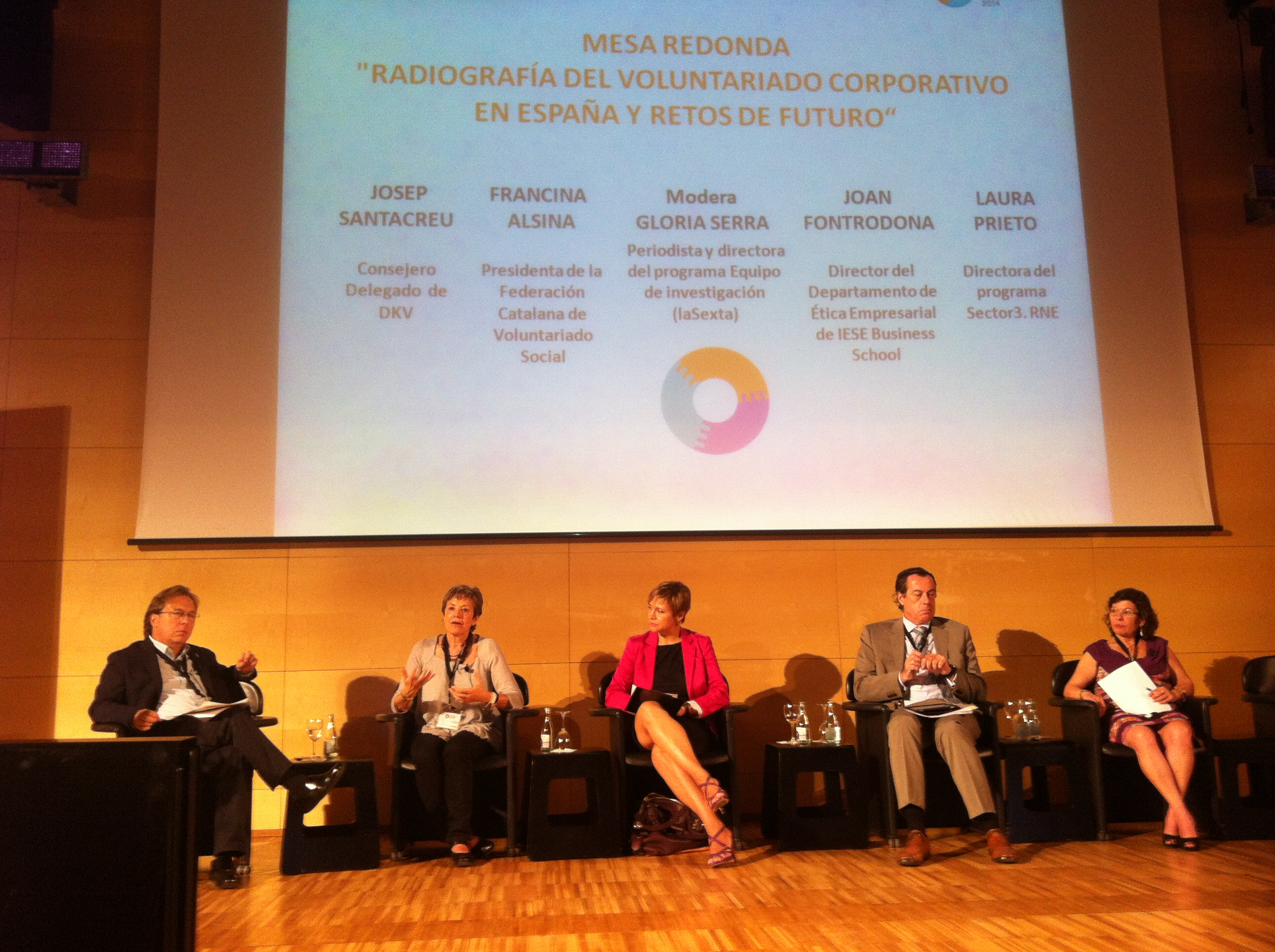 Taula rodona sobre Voluntariat Corporatiu al Congrés Iberoamericà