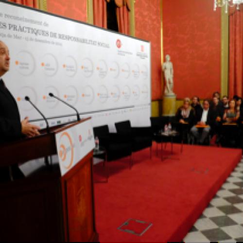 [Vídeo] Intervenció Felip Puig Acte Reconeixement Bones Pràctiques RSE Pimes 15-12-2014