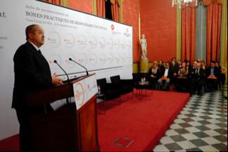 Felip Puig, conseller d'Empresa i Ocupació