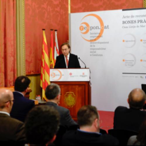 [Vídeo] Intervenció Josep Santacreu Acte Reconeixement Bones Pràctiques RSE Pimes 15-12-2014