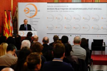 Miquel Valls, president del Consell de Cambres de Comerç de Catalunya
