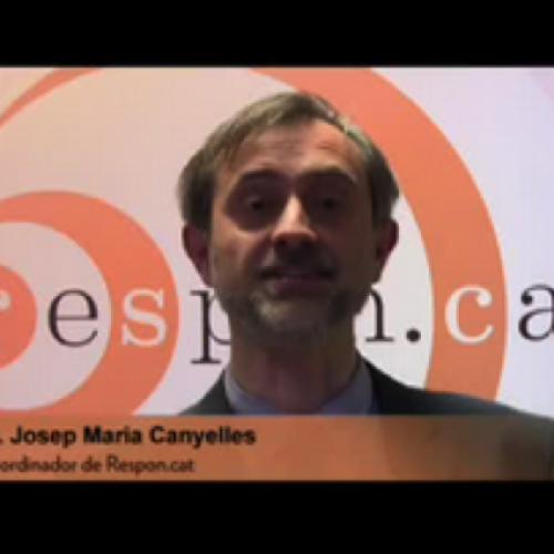 [Microvídeo] Josep Maria Canyelles en referència a Respon.cat