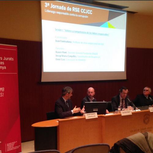 Alt nivell i interès en la jornada d'RSE organitzada pel Col·legi dels auditors