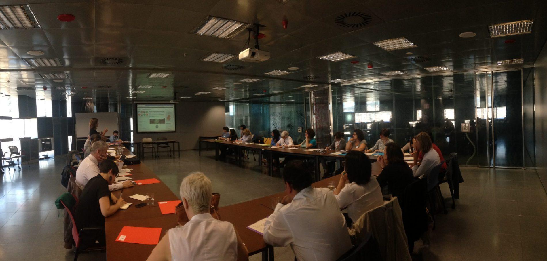 Valoracions excel·lents del primer dia del seminari sobre Voluntariat d'empresa