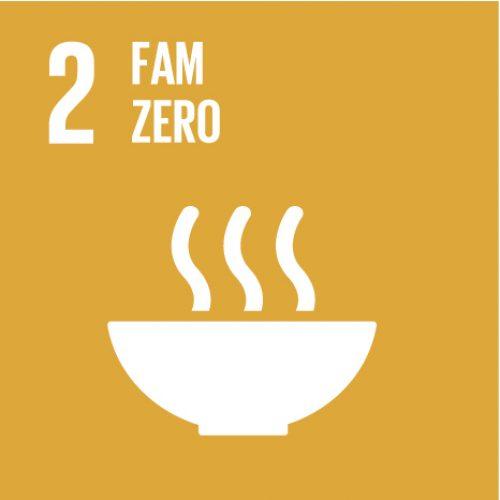 #ODS Objectiu 2: Posar fi a la fam, aconseguir la seguretat alimentària i la millora de la nutrició i promoure l'agricultura sostenible
