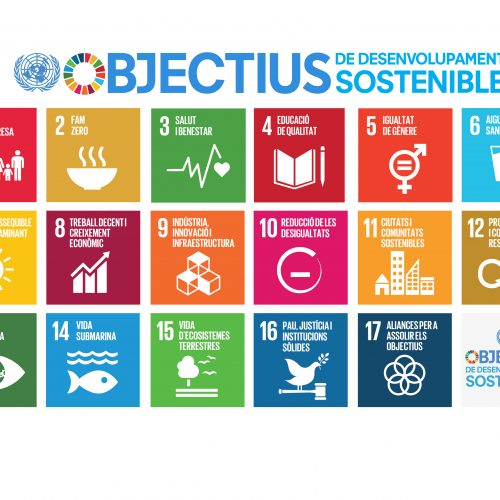 Volem conèixer les teves bones pràctiques vinculades als Objectius de Desenvolupament Sostenible!