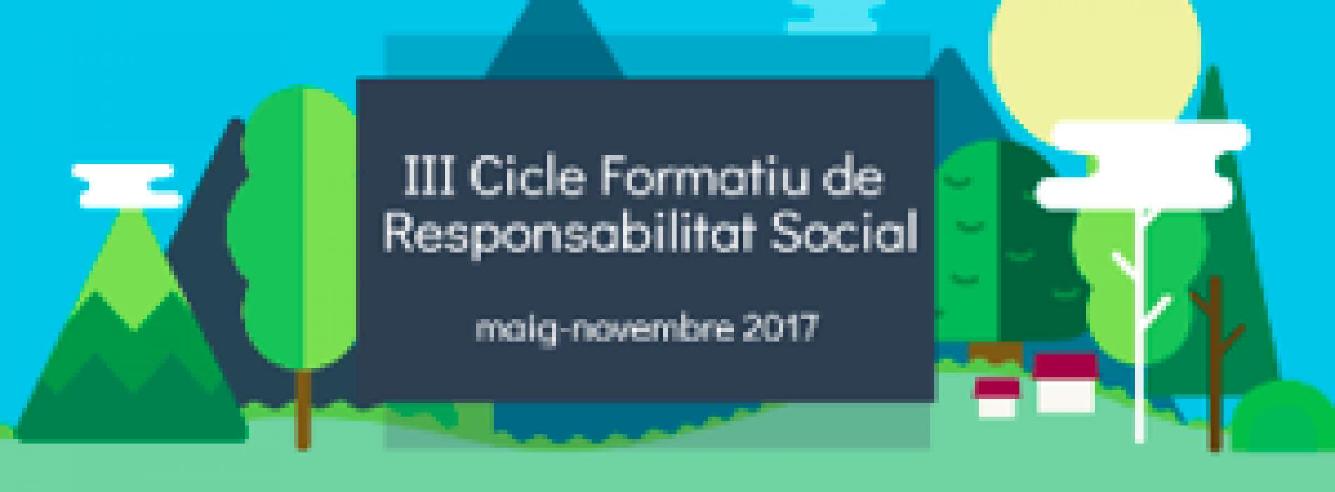 Obert el III cicle formatiu de responsabilitat social de RSCat
