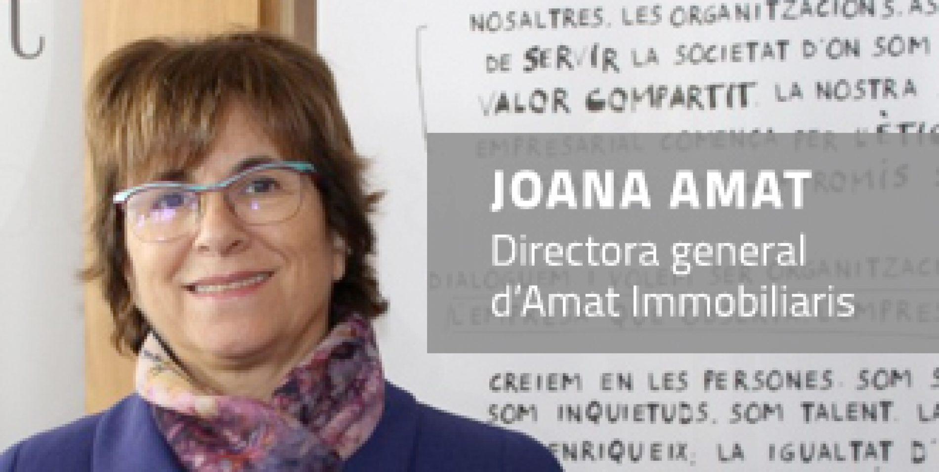 Joana Amat, una de les 29 personalitats reconegudes amb la Creu Sant Jordi 2019