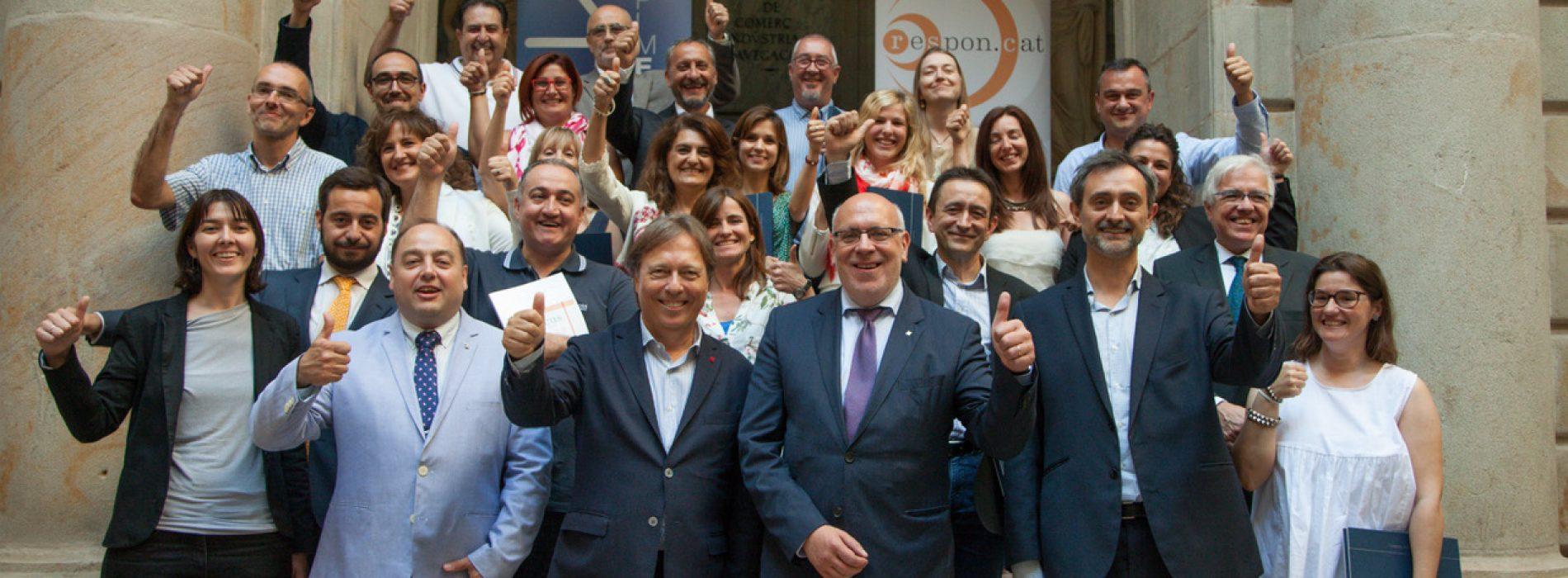 Un dels primers actes de la nova consellera d'Empresa: l'RSE de les pimes