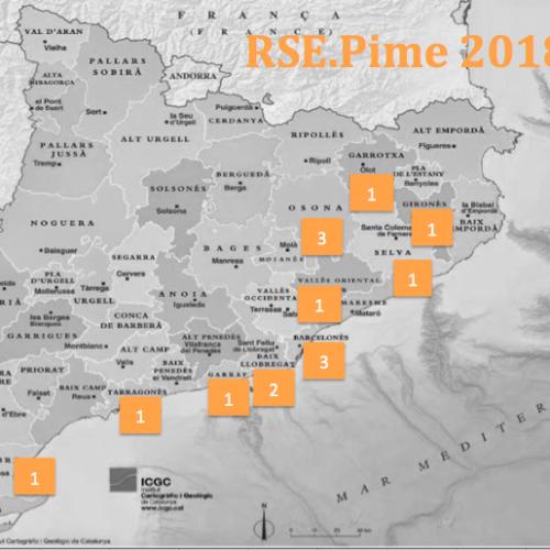16 empreses participaran a l'edició 2018 del programa RSE.Pime