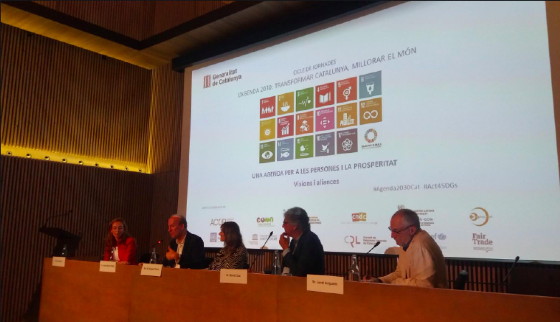 David Cos sobre els ODS: Calcular l'impacte empresarial és fonamental. Cal saber qui aporta valor i qui en resta. Qui no fa res, resta.