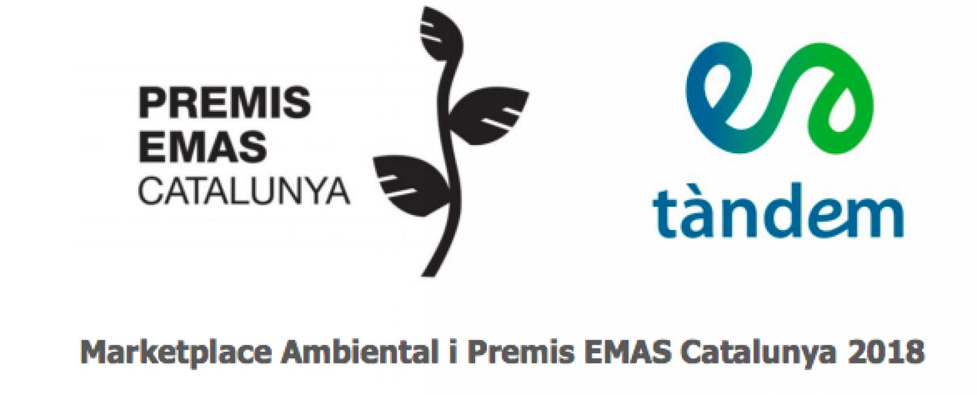 Acte de lliurament dels Premis EMAS Catalunya 2018 i al Marketplace ambiental de Catalunya