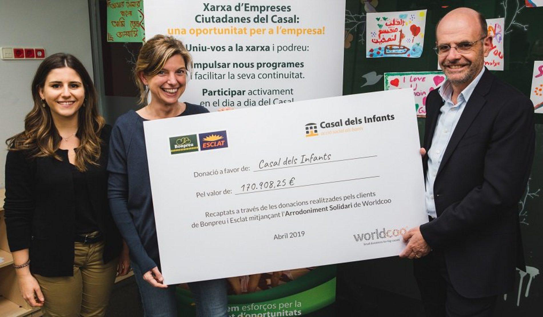 Bonpreu i Esclat recapta en menys de dos mesos 170.000 € per causes socials