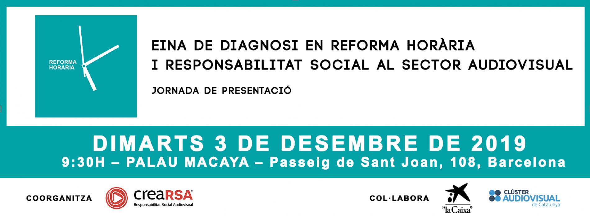 El proper 3 de desempre es presenta l'Eina de Diagnosi en Responsabilitat Social