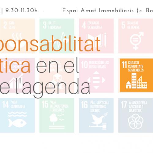 [Jornada] La responsabilitat lingüística en el marc de l'Agenda 2030