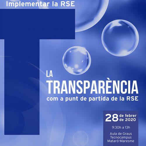 Arriba la V Jornada Implementar l'RSE: La transparència com a punt de partida