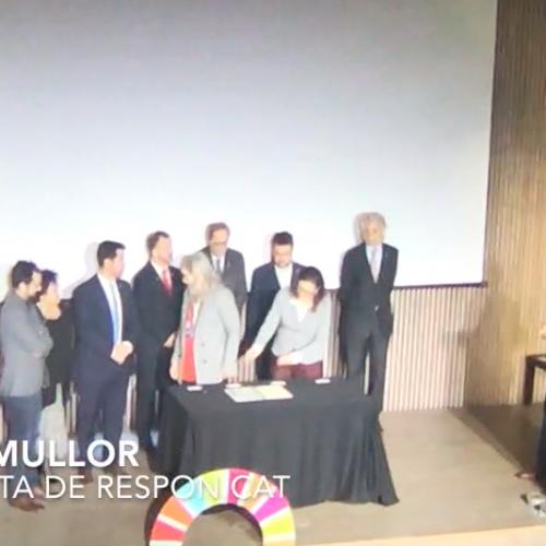 Respon.cat signa l'acord nacional per a l'Agenda 2030 a Catalunya