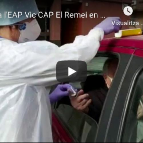 [Vídeo] Un dia a l'EAP Vic CAP El Remei en plena crisi del coronavirus