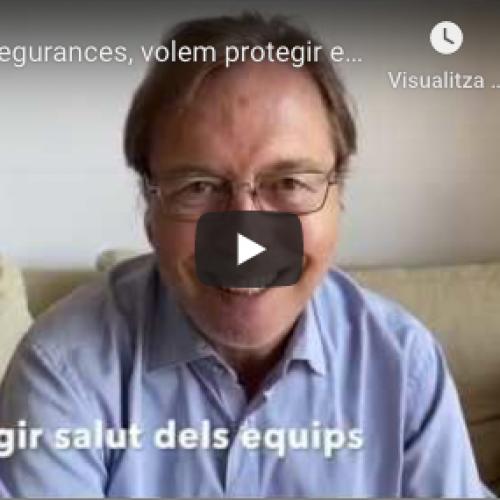[Vídeo] DKV Assegurances, volem protegir el teixit del nostre voltant perquè surti enfortit d'aquesta crisi