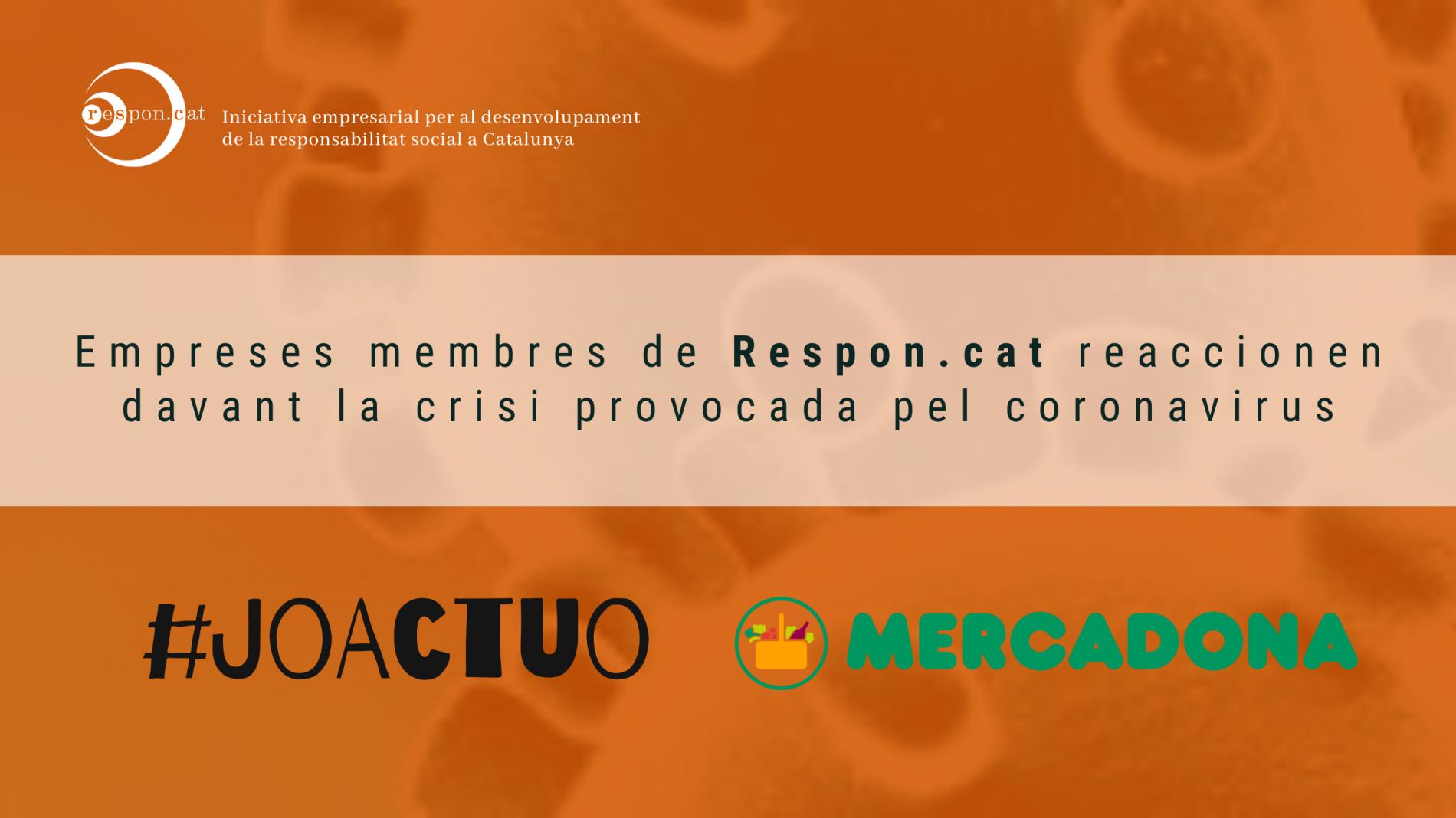 [Vídeo] Mercadona pren mesures davant la crisi del coronavirus