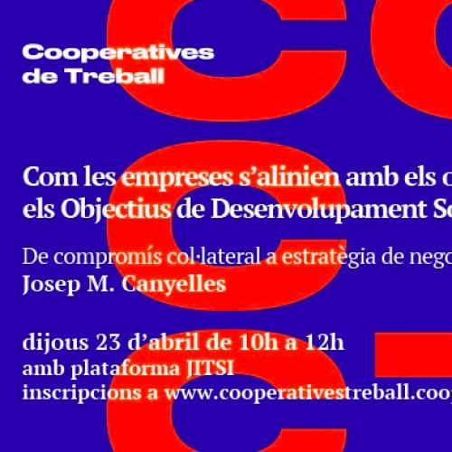 La Federació de Cooperatives de Treball convida Respon.cat a fer una sessió sobre el sentit empresarial dels Objectius de Desenvolupament Sostenible (ODS)