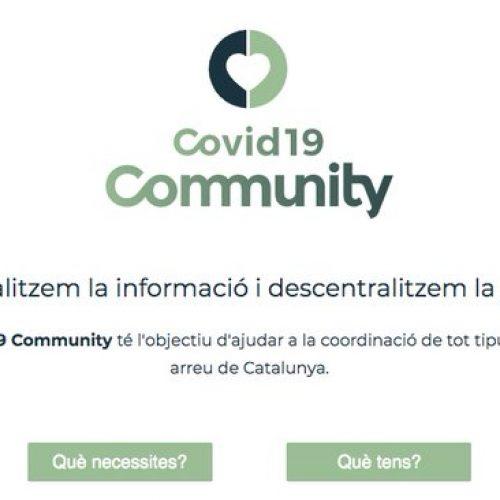 Les Cambres de Comerç catalanes impulsen la Plataforma Solidària COVID19 Community