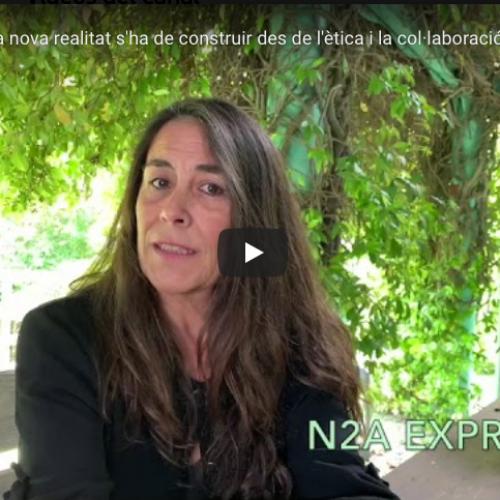 [Vídeo] N2A Express: la nova realitat s'ha de construir des de l'ètica, la inclusivitat i la col·laboració