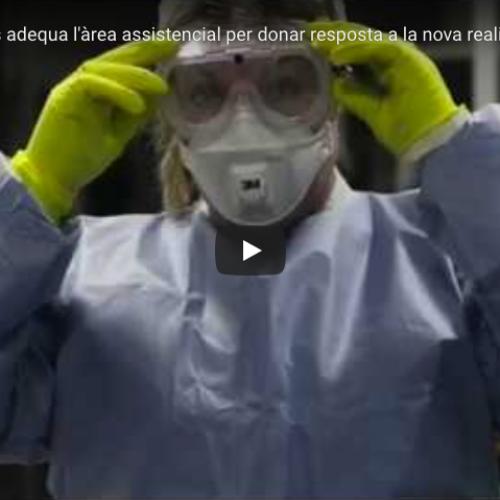 [Vídeo] CAP Les Hortes adequa l'àrea assistencial en tota la seva dimensió per donar resposta a la nova realitat