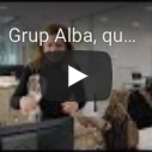 Grup Alba, roses de galeta i xocolata