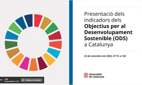 Ja disposem de les primeres dades dels ODS a Catalunya! @catsostenible @idescat @arnauqueralt @nataliamasguix @bernatsole