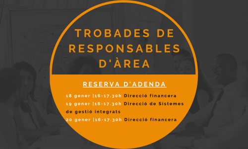 8 i 22 FEBRER i 1 MARÇ – Trobades en línia de responsables d'Àrea d'empreses membres de Respon.cat