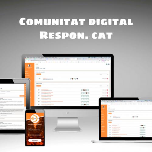 APLAZADO – Acto de lanzamiento de la Comunidad Digital Respon.cat