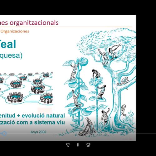 El nou paradigma organitzacional es basa en la confiança i l'empoderament de les persones