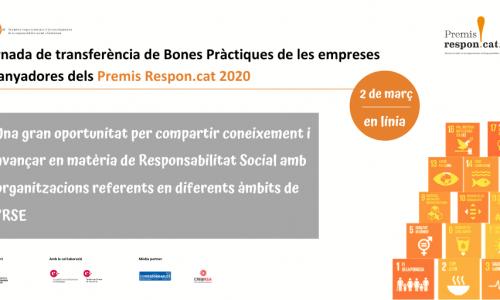 Jornada virtual de Transferència de Bones Pràctiques de les empreses guanyadores dels Premis Respon.cat 2020