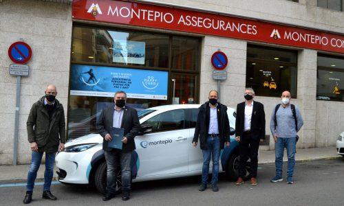 El Montepio impulsa el primer servei de mobilitat elèctrica compartida al Bages, Berguedà i Solsonès