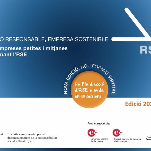 ATENCIÓ PIMES: llancem la nova convocatòria de RSE.Pime, un pla d'acció en RSE en 10 sessions